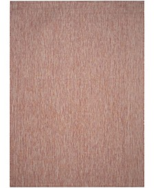 Courtyard Red and Beige 8' x 11' Sisal Weave Area Rug