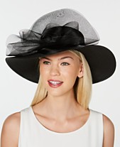 d3d0b467dc7 August Hats Gathered Tulle Wide Brim Dressy Hat