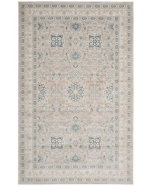 Safavieh Archive Gray and Blue 4' x 6' Area Rug