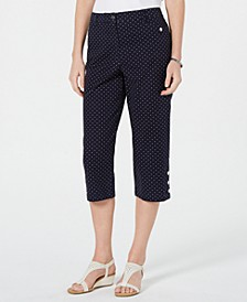 Polka Dot Capri Pants, Created for Macy's