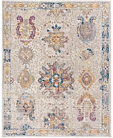 Safavieh Bristol Light Gray and Blue 8' x 10' Area Rug