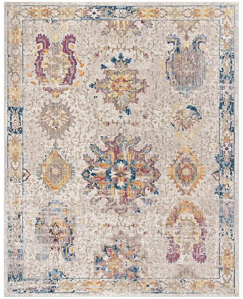 Safavieh Bristol Light Gray and Blue 8' x 10' Area Rug