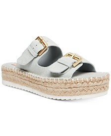Madden Girl Jonesy Footbed Espadrilles