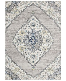 Safavieh Madison Light Gray and Blue 8' x 10' Sisal Weave Area Rug