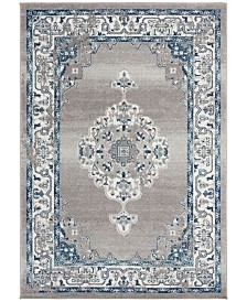 Safavieh Madison Gray and Cream 8' x 10' Area Rug