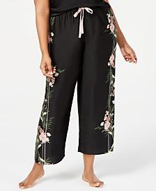 I.N.C. Plus Size Printed Pajama Pants, Created for Macy's