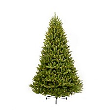 International 6.5 ft. Pre-lit Franklin Fir Artificial Christmas Tree 500 UL listed Clear Lights