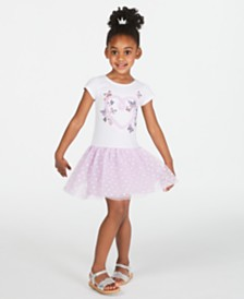 Epic Threads Toddler Girls Drop-Waist Tulle Dress, Created for Macy's