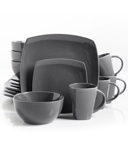 Soho Lounge Square Dinnerware Set of 16 Piece