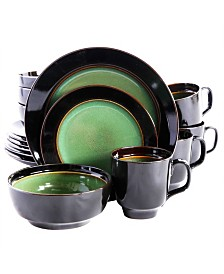 Bella Galleria 16 Piece Reactive Dinnerware Set