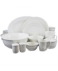 Paton 37 Piece Dinnerware Set