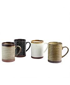 4 Piece 18.5 Ounce Mug Set