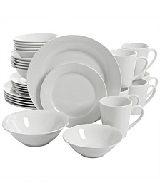 30 Piece Ceramic Dinnerware Set