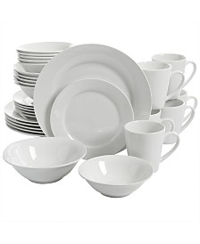 Noble Court 30 Piece Ceramic Dinnerware Set
