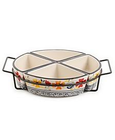 4-Section Tidbit Dish