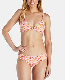 Raisins Juniors' Paradise Found O-Ring Bikini Top & Paradise Found Miami Hipster Bikini Bottoms