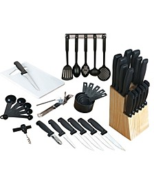 Total Kitchen 41 Piece Cutlery Combo Set
