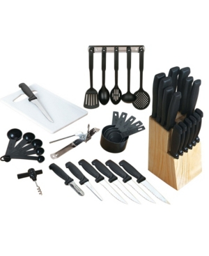 Gibson Home Total Kitchen 41 Piece Cutlery Combo Set