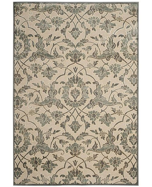 "Safavieh Paradise Cream and Slate 5'3"" x 7'6"" Area Rug"