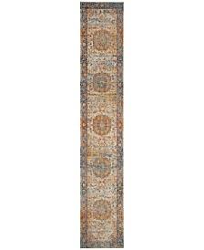 "Safavieh Vintage Persian Blue and Multi 2'2"" x 14' Runner Area Rug"