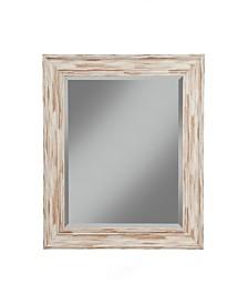 Martin Svensson  Antique White Wash Farmhouse Wall Mirror