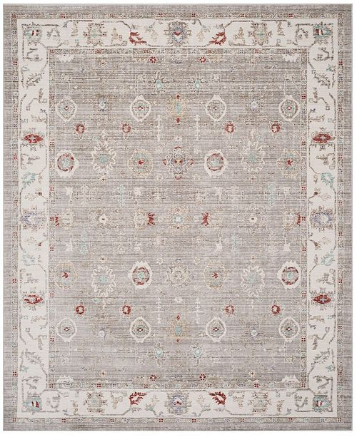 Safavieh Windsor Light Gray and Ivory 9' x 13' Area Rug