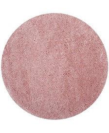 "Safavieh Polar Light Pink 5'1"" x 5'1"" Round Area Rug"