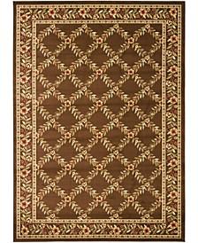 Lyndhurst Brown 8' x 11' Sisal Weave Area Rug