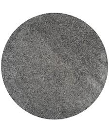 "Safavieh Laguna Dark Gray 6'7"" x 6'7"" Round Area Rug"