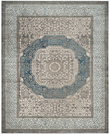 Safavieh Sofia Light Gray and Blue 8' x 11' Area Rug