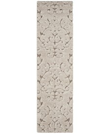 "Safavieh Florida Cream and Beige 2'3"" x 8' Runner Area Rug"