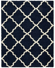 Dallas Navy and Ivory 8' x 10' Area Rug