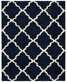 Safavieh Dallas Navy and Ivory 8' x 10' Area Rug