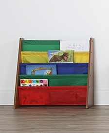 Kids Wood Book Rack Storage Bookshelf