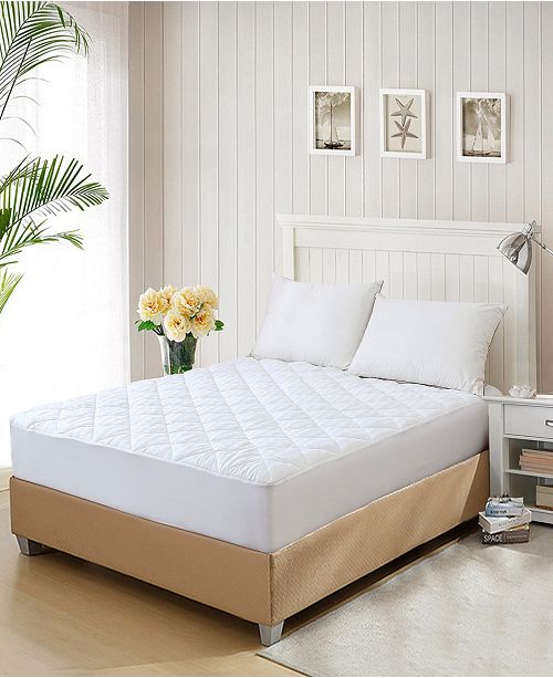 St. James Home 350 Thread Count Cotton Water Resistant Full Mattress Pad