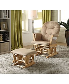 Rehan 2-Piece Glider Chair & Ottoman