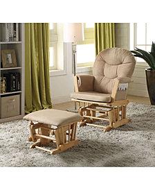 Rehan 2-Piece Glider Chair & Ottoman