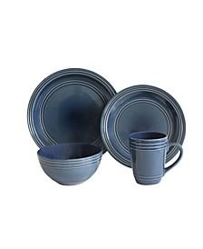 Allure 16 Piece Dinnerware Set