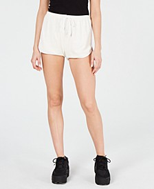 Piped-Trim Terry Shorts
