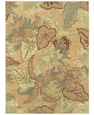Shaw Living Rugs, American Abstracts Collection 37200 Naples Gold
