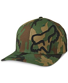 Fox Men's FlexFit Camo Logo Graphic Hat