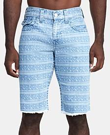 Men's Ikat-Print Ricky Flap Shorts
