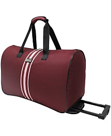 Steve Madden Wheeled Duffels Collection