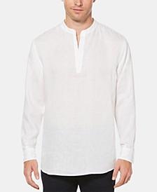 Men's Linen Chambray Popover Shirt