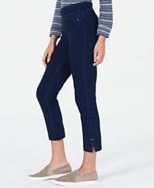 Style & Co Soft Pull-On Capri Pants, Created for Macy's