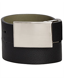 Calvin Klein Big Boys Industrial Reversible  Belt