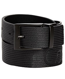 Calvin Klein Big Boys Reversible Logo Belt