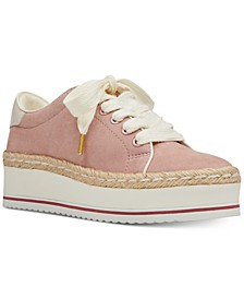 Evie Lace-Up Espadrille Sneakers