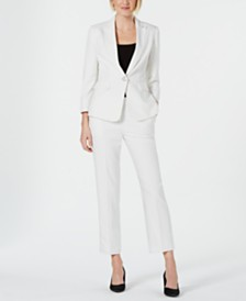 Kasper Pinstriped Jacket & Pants