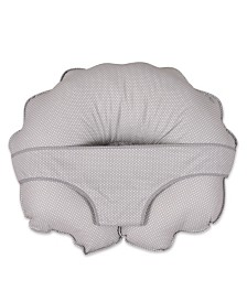 Leachco Cuddle-U Original Nursing Pillow And More, Gray Pin Dot
